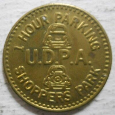 U.D.P.A. Shoppers Park (Seattle, Washington) parking token - WA3780AS