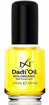 Dad Oil Cuticle Nail Treatment DADI OIL Manicure 95% Organic 3.75ml