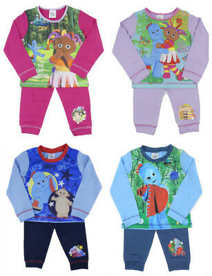 Boys and Girls In The Night Garden Pyjamas Iggle Piggle Upsy Daisy Up To 3-4 yrs