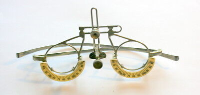Excellent Cond.  Antique Spectacles Trial Frame, Complete And Fully Functioning