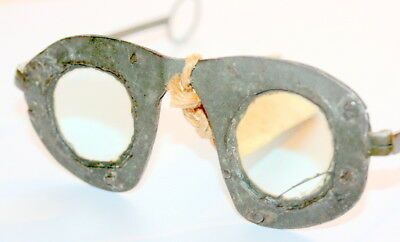 Hand Forged Protector To Spectacles, Robust And Sturdy, C1850