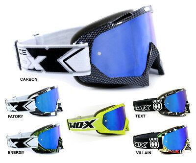 TWO-X Race Crossbrille blau Ice verspiegelt