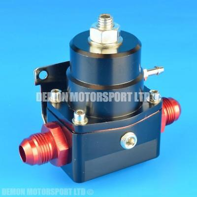 AN -8 (8AN) FPR Fuel Pressure Regulator Black With An8 Fittings 100 Psi 1:1