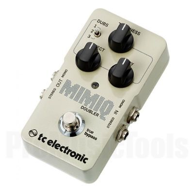 TC Electronic Mimiq Doubler * NEW * t.c. double tracking pedal