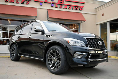 2015 Infiniti QX80 Limited 4x4 2015 INFINITI QX80 Limited 4x4, 1-Owner, Technology And Theater Packges!