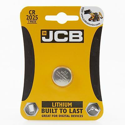 JCB Coin Cell Battery CR2025 Good Quality