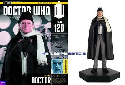 Doctor Who Figurine Collection #120 First Dr David Bradley Eaglemoss New 118 119