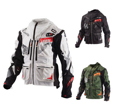 Leatt Enduro Jacke 5.5 Motocross MX Offroad Jacket für Neck Brace