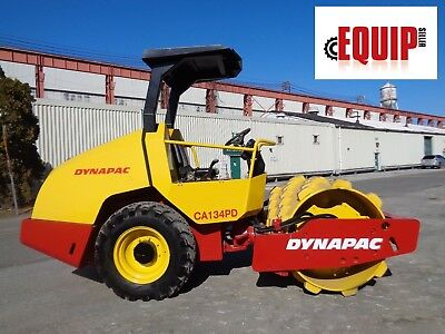 2012 Dynapac CA134PD Vibrating Roller Compactor