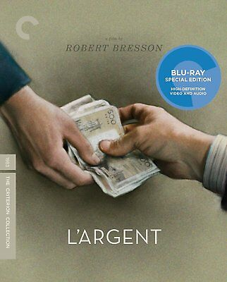 L'Argent Blu-ray,the criterion collection free shipping.new sealed