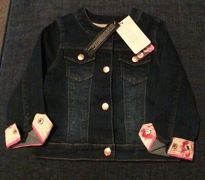 Bnwt Girls Denim Jacket From Ted Baker In Size 18-24 Months