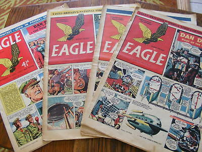 Eagle  Comics Job Lot 4 Comics Vol 2  #11 # 12 #18 Vol 9 #41