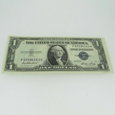 1935 E Silver Certificate United States 1 Dollar Bill One Dollar 600714