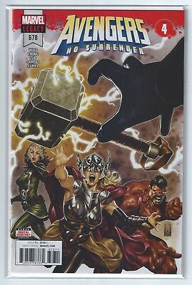 AVENGERS #678 Cover A, first print, unread NM/MINT