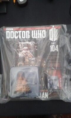 Doctor Who Figurine Collection Issue 104 Dalek Caan David Tennant Daleks BNIB