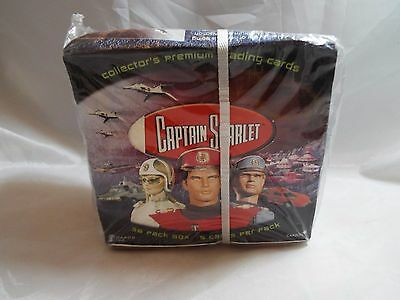 Captain Scarlet Factory Sealed Box Of 36 Packs. Cards Inc