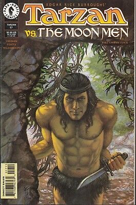 Tarzan  #17 1997 Dark Horse  -Vs-The Moon Men/ P1/4-  Truman/ Williamson...nm-