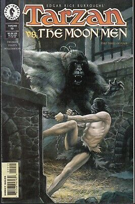 Tarzan  #19 1998 Dark Horse  -Vs-The Moon Men/ P3/4-  Truman/ Williamson...nm-