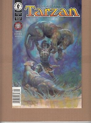 Tarzan  #5 1996 Dark Horse-Jungle Fury- P5 -Burrough Presents- Jones/dutro...fn