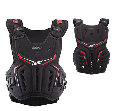Leatt Chest Armour 3DF Black Red Chest Protector MX ENDURO MOTOCROSS Size L-XL