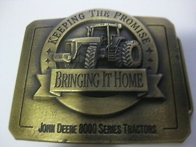 John Deere 8000 Series Keeping The Promise Bringing It Home 1995 Dressed To Till