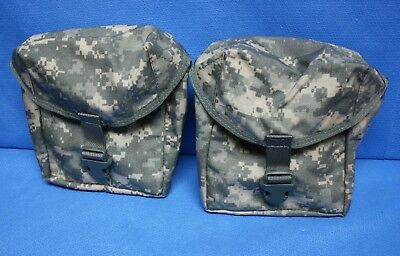 IFAK 2 each Individual First Aid Kit Carrying Case Pouch USGI ACU Camo Molle
