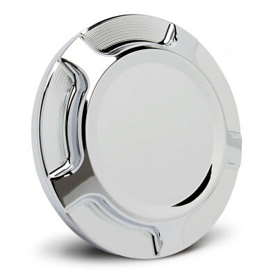 Arlen Ness Chrome Beveled Gas Cap for Indian Scout 14-Up Victory Octane 16-Up
