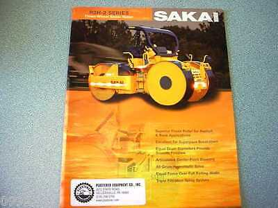 Sakai R2H-2 Series Three-Wheel Static Roller Brochure