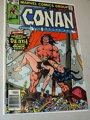 Conan The Barbarian #100 Death of Belit from July 1979 Higher Grade