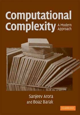 Computational Complexity A Modern Approach by Sanjeev Arora 9780521424264