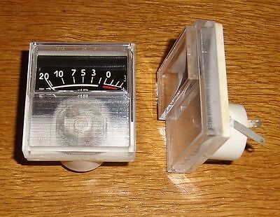 2 VU - Meter ( analog , sw = 2 pcs )