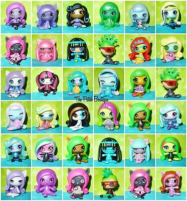 Monster High Minis Season 1 Doll Original Sleepover Candy Pattern Ghostly Rag