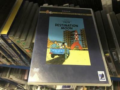 Herge The Adventures Of TinTin - Destination Moon / Explorers Of The Moon