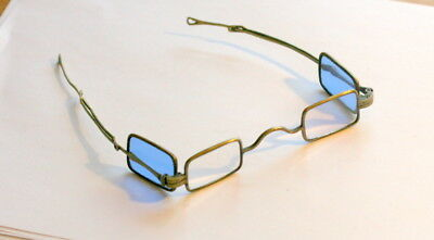 C1820  Brass  4 Lenses Spectacles Eyeglasses In Good Condition, Reading Sunglass