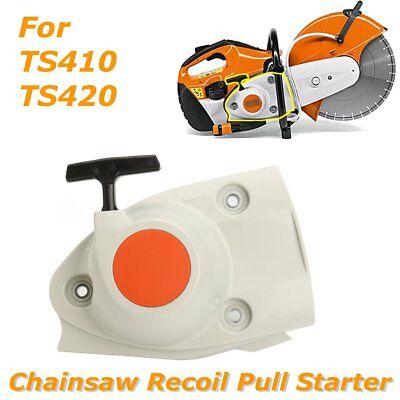 Chiansaw Recoil Pull Starter Engine Assembly For Stihl TS410 TS420 Cut Off Saws