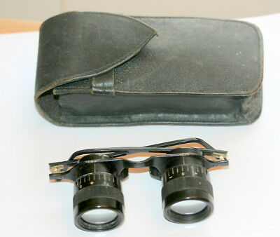 Vintage Excellent Kershaw Telescope  Spectacles Binoculars Fully Functioning