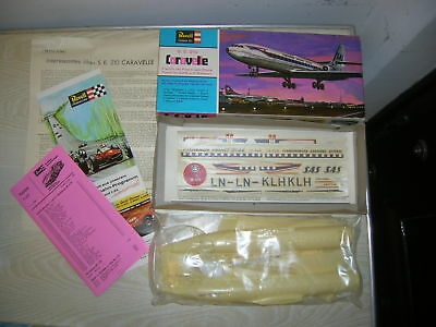 VINTAGE - REVELL SAS Scandinavian Airlines Caravelle H-184 - MINT in Box MIB