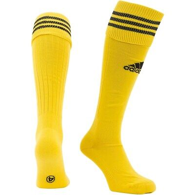 adidas 3-Stripe Men's & Boy's Football Socks Rugby Hockey Team Kit Sport Yellow