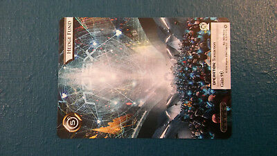 1 x Netrunner Promo Hedge Fund Card - Store Championships 2016