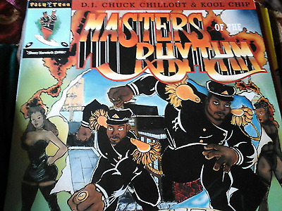 DJ CHUCK CHILLOUT & KOOL CHIP - Masters Of The Rhythm ~ VINYL LP(1989)