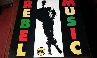 Rebel Mc  Rebel Music (1990)Desire Vinyl L.p.