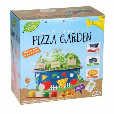 Grow Your Own Pizza Garden Herb Plant Kids Nature DIY Educational Craft Toy Set