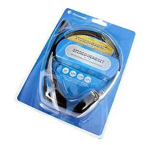 Stereo Headphones With Boom Microphone