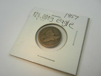1857 US Flying Eagle Cent