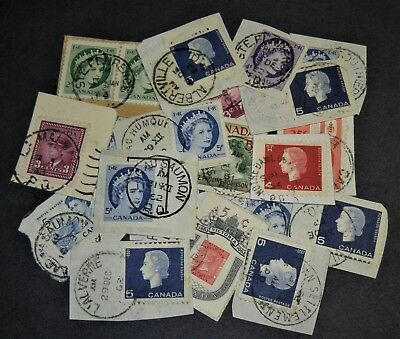 20   X   Quebec Rare Town Cancel Lot