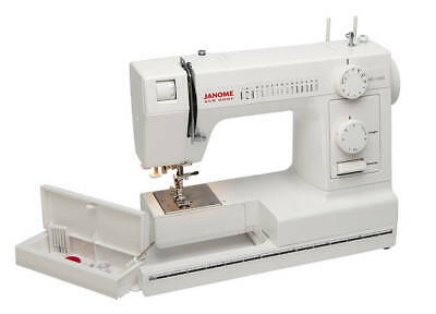 Janome HEAVY DUTY HD1000 All Metal Sewing Machine with Built-In Needle Threader