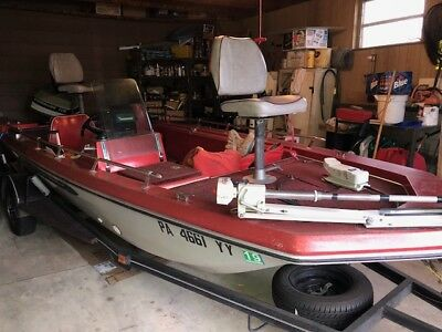"1976 Arrowglass Mark IV 17'10"" Fishing Boat & Trailer - Pennsylvania"