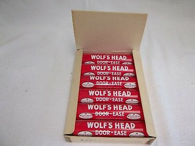 Wolf's Head Door-ease Display w/6 Full Tubes