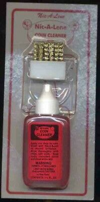 Nic A Lene Coin Cleaner (1.25Oz With Brush)