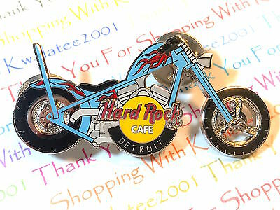 HRC Hard Rock Cafe Detroit Chopper Series 2004 Pin Limited Edition NEW # 23168